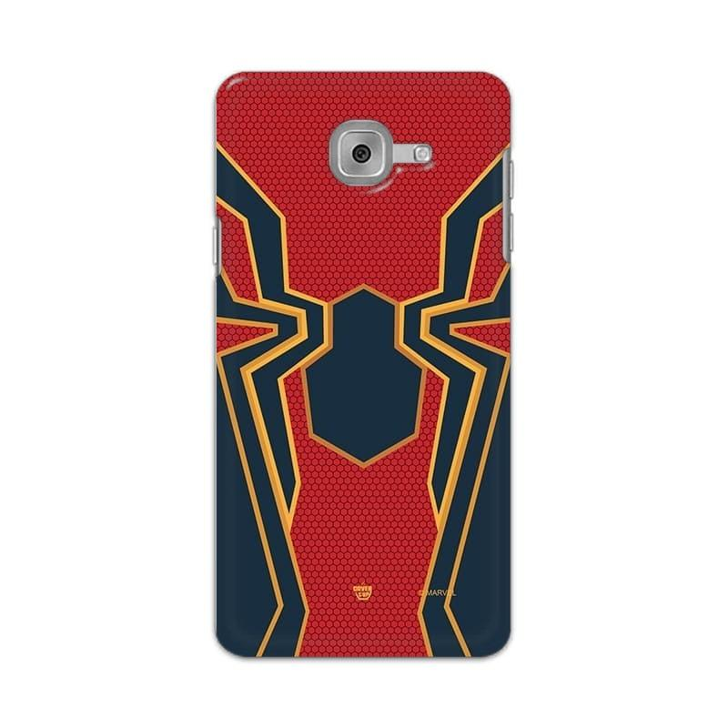Samsung Phone Case Official Marvel Spider-Man Logo Suit Galaxy J7 Max Hard Case