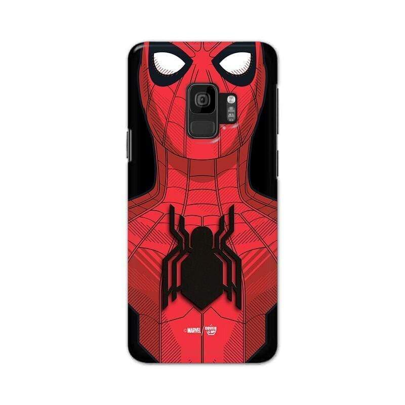 Samsung Phone Case Official Marvel Spider-Man Web Tech Galaxy S9 3D Case