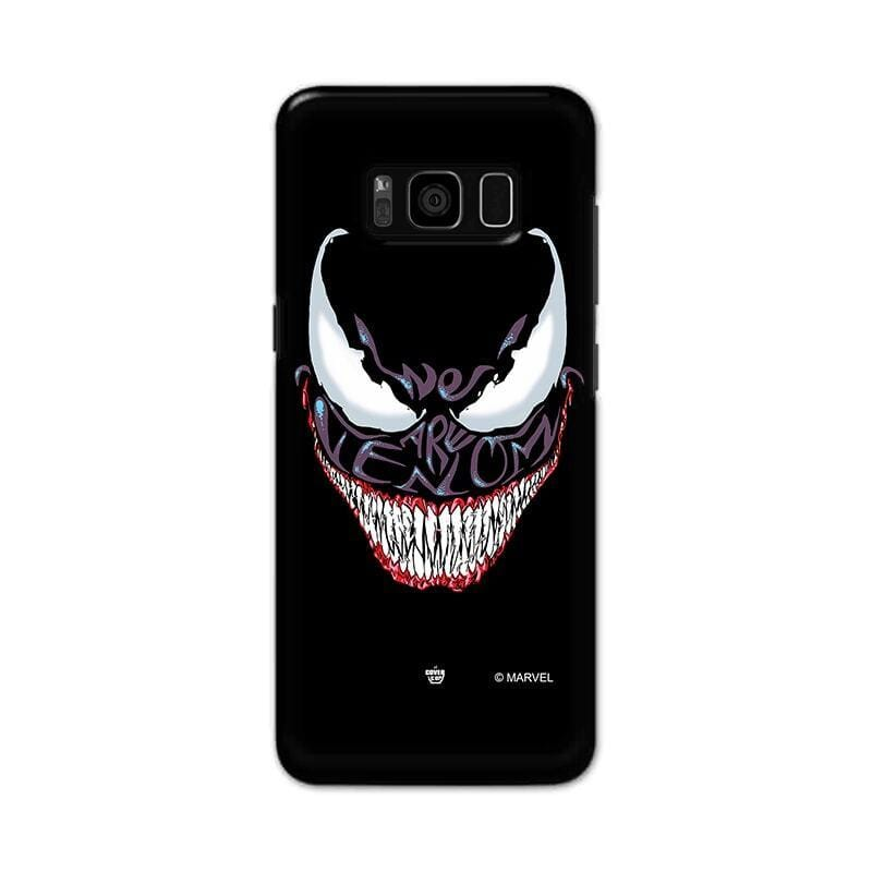 Samsung Phone Case Official Marvel We are Venom Galaxy S8 Plus Hard Case