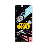 Official Star Wars Logo Galaxy A8 Plus 3D Case