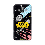 Official Star Wars Logo Galaxy J7 Duos 3D Case