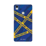 Vivo Phone Case Default Official Chennai Super Kings Cross Pattern V3 Max Hard Case