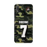 Vivo Phone Case Default Official Chennai Super Kings Dhoni Camouflage V11 Pro 3D Case