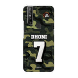 Official Chennai Super Kings Dhoni Camouflage V15 3D Case