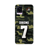 Vivo Phone Case Default Official Chennai Super Kings Dhoni Camouflage v20 pro 3D Case