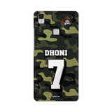 Vivo Phone Case Default Official Chennai Super Kings Dhoni Camouflage V3 Max 3D Case