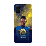 Vivo Phone Case Default Official Chennai Super Kings Dhoni Paint Sports Y51 3D Case