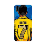 Vivo Phone Case Default Official Chennai Super Kings Dhoni Yellove V9 Pro 3D Case
