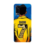 Vivo Phone Case Default Official Chennai Super Kings Dhoni Yellove Y51 3D Case