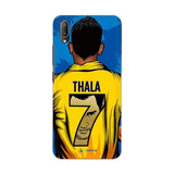Vivo Phone Case Default Official Chennai Super Kings Thala 7 2020 V11 Pro 3D Case