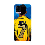 Vivo Phone Case Default Official Chennai Super Kings Thala 7 2020 v20 pro 3D Case