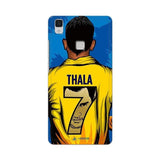 Vivo Phone Case Default Official Chennai Super Kings Thala 7 2020 V3 Max 3D Case