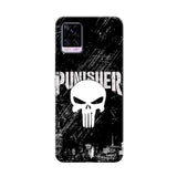 Vivo Phone Case Default Official Marvel Punisher v20 pro 3D Case