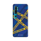Xiaomi Phone Case Default Official Chennai Super Kings Cross Pattern Mi Note 10 Pro Hard Case