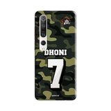 Xiaomi Phone Case Default Official Chennai Super Kings Dhoni Camouflage Mi 10 Pro 3D Case