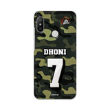 Xiaomi Phone Case Default Official Chennai Super Kings Dhoni Camouflage Mi A2 3D Case