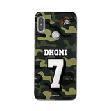 Official Chennai Super Kings Dhoni Camouflage Redmi Note 5 Pro 3D Case