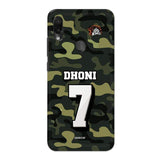 Official Chennai Super Kings Dhoni Camouflage Redmi Note 7 Pro 3D Case