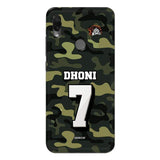 Xiaomi Phone Case Default Official Chennai Super Kings Dhoni Camouflage Redmi Note 7S 3D Case