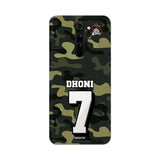 Xiaomi Phone Case Default Official Chennai Super Kings Dhoni Camouflage Redmi Note 8 Pro 3D Case