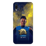 Xiaomi Phone Case Default Official Chennai Super Kings Dhoni Paint Sports Redmi Note 7S 3D Case