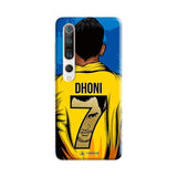 Xiaomi Phone Case Default Official Chennai Super Kings Dhoni Yellove Mi 10 Pro 3D Case