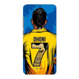 Xiaomi Phone Case Default Official Chennai Super Kings Dhoni Yellove Redmi K20 3D Case