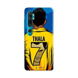 Xiaomi Phone Case Default Official Chennai Super Kings Thala 7 2020 Mi Note 10 Pro 3D Case