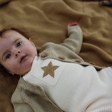 Load image into Gallery viewer, Pearl Knit Star Romper