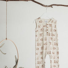 Load image into Gallery viewer, Badger Henley Romper