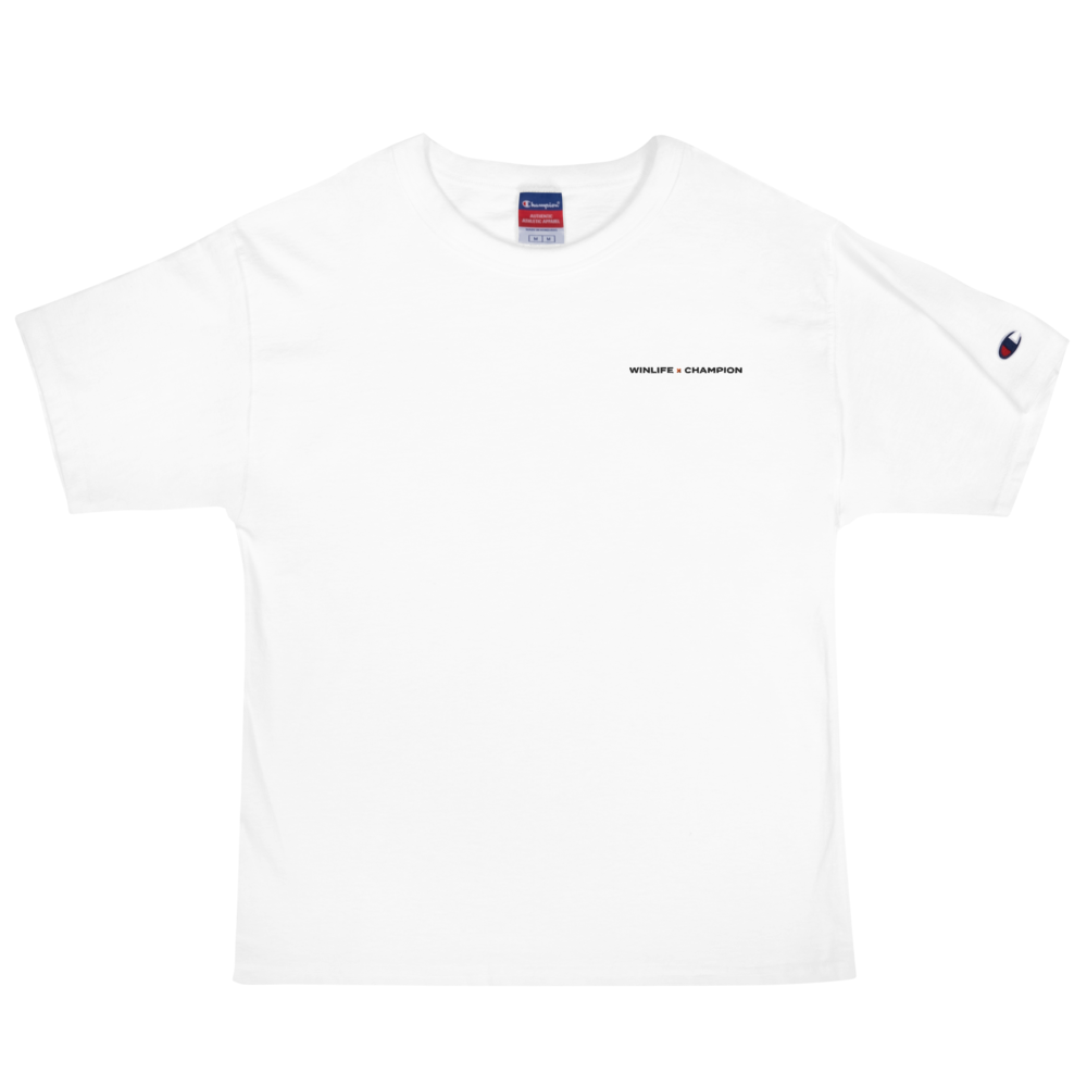 Winlife × Champion Embroidered T-Shirt