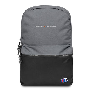 Winline × Champion Embroidered Backpack