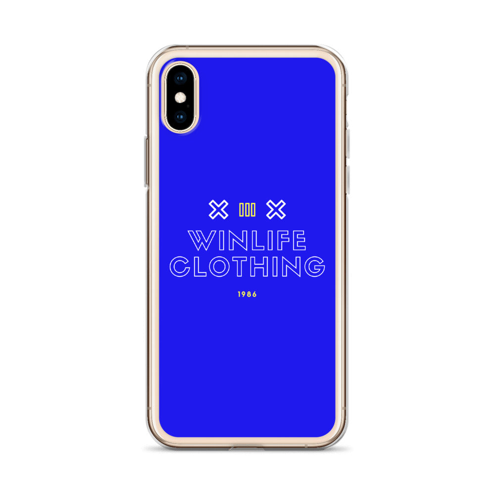 Winlife BC Blue iPhone Case