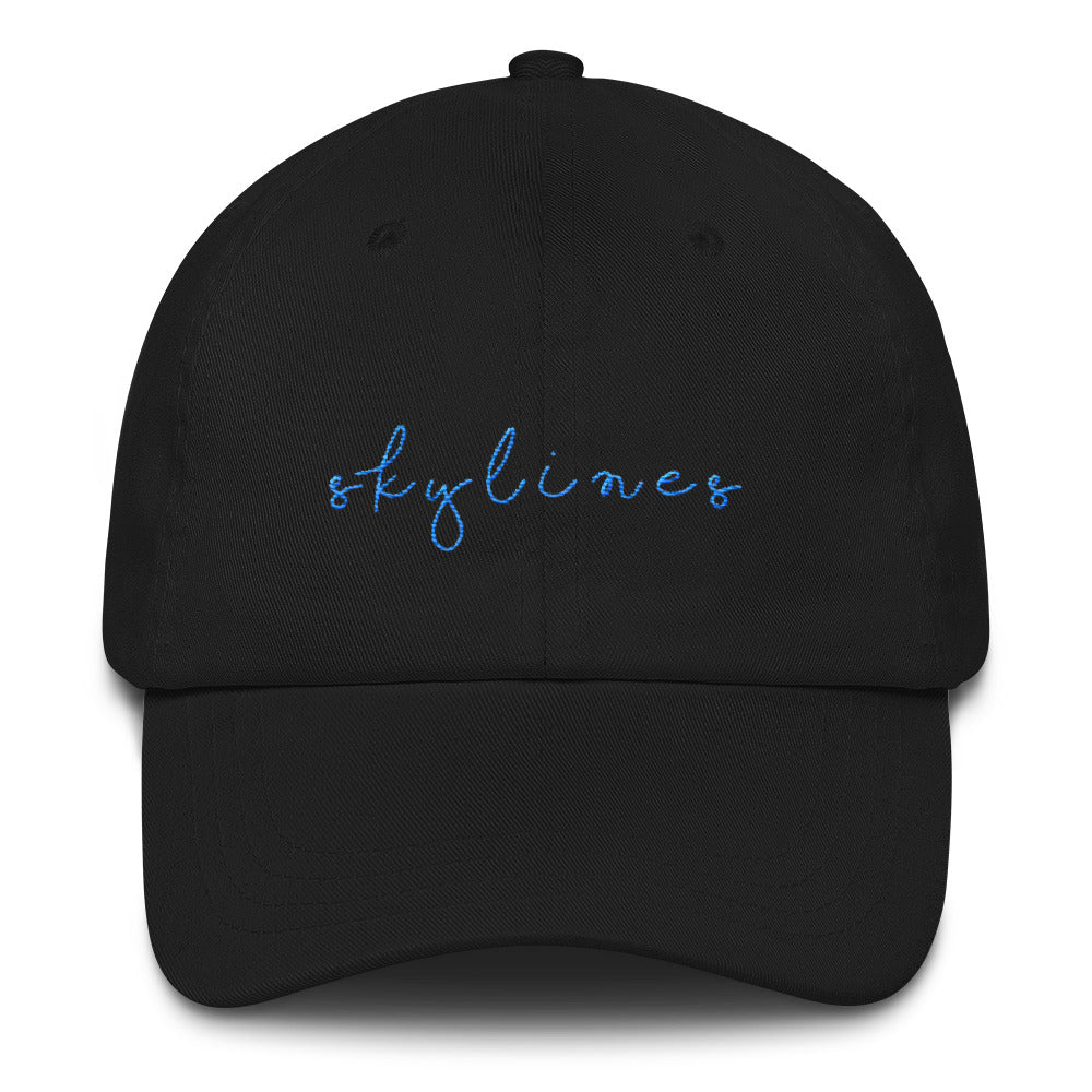"Black ""Skylines"" Cap"
