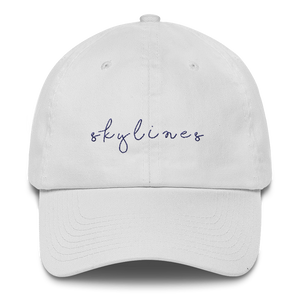 "White ""Skylines"" Cap"