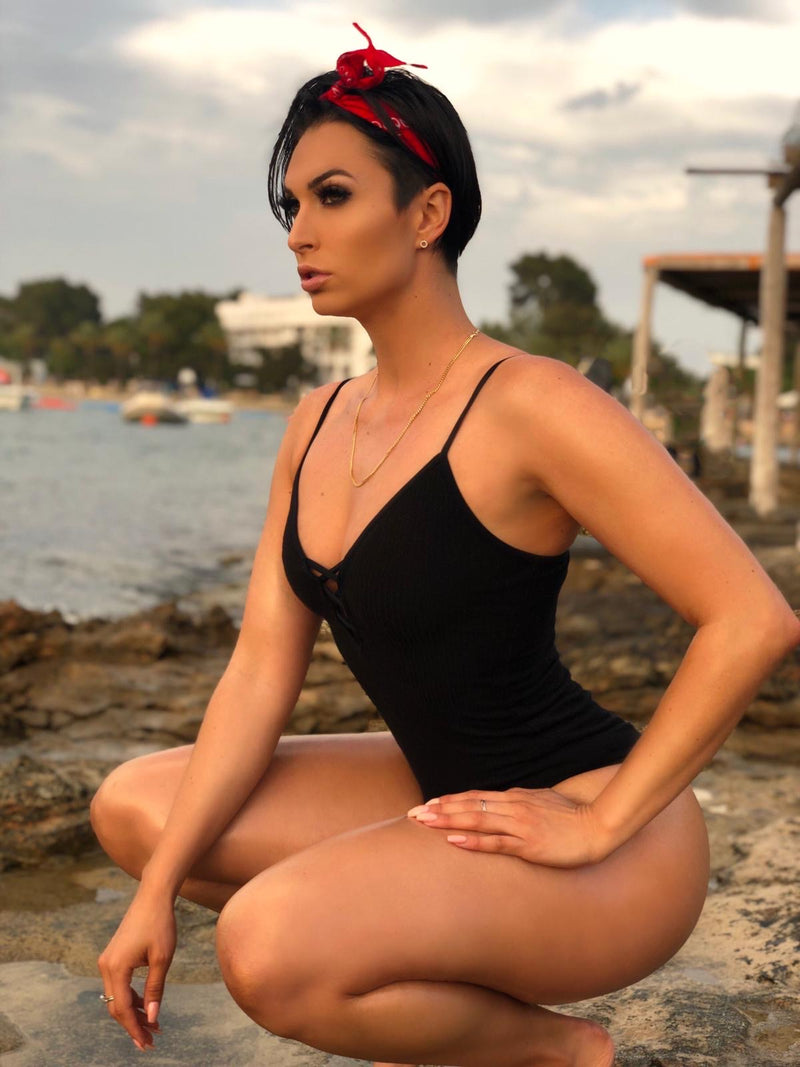 Photoshoot while Traveling in Ibiza with Photographer Rosie Sin