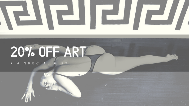 April Special : 20% off all ART