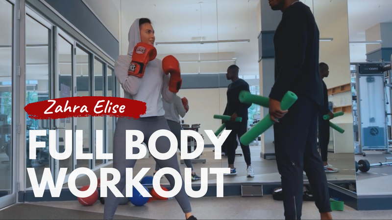 Youtube : Full Body Workout with Alvin Davie
