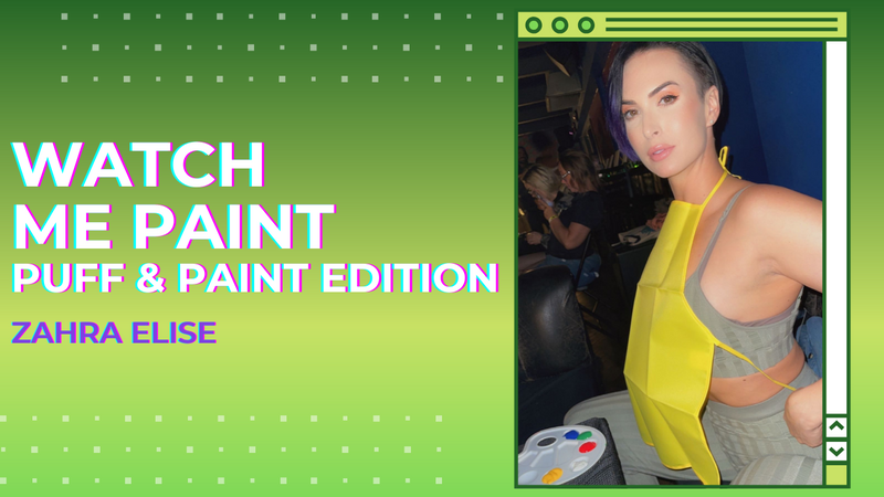 Youtube : Watch me Paint : Puff & Paint Edition