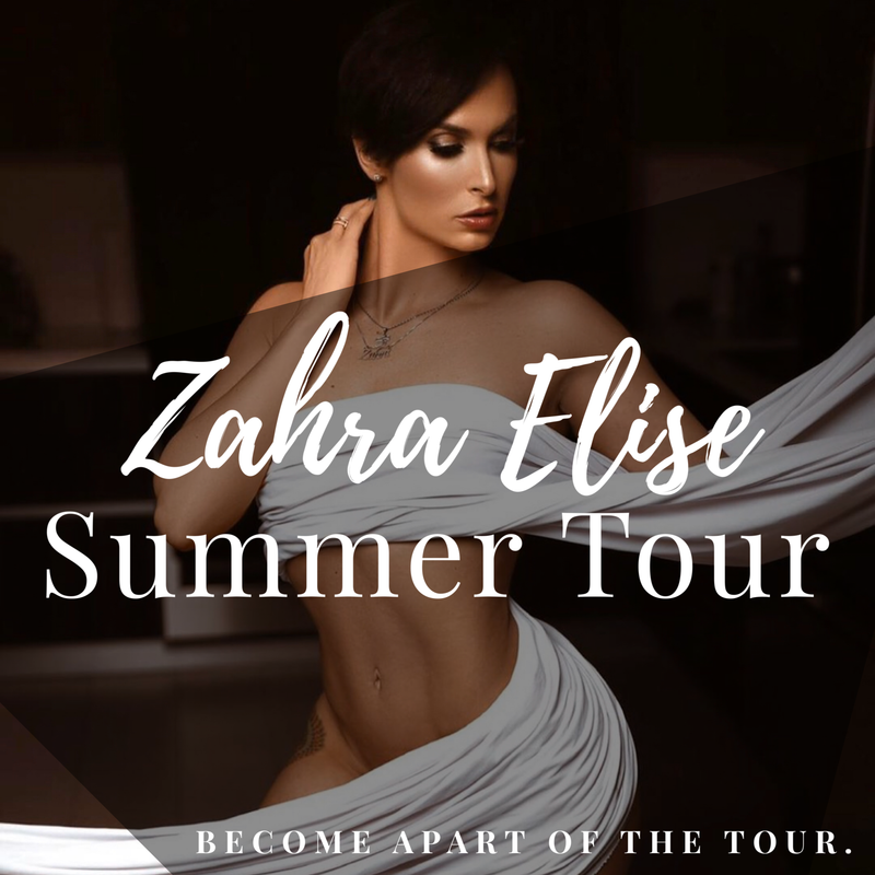Now Booking : Zahra Elise Summer Tour