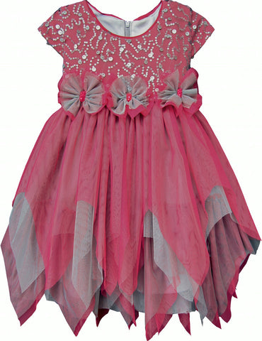 Isobella & Chloe Bella Bow Formal Tulle Dress - Rebelle Kids