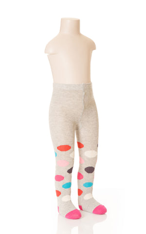 Deux Par Deux Girls Princess Du Nord Knit Tights Multi Size 2-7 YRS - Rebelle Kids - 1