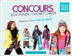 Deux Par Deux Girls Snowsuit & Neck Warmer - 2 piece Aime La Neige Collection - Rebelle Kids - 4