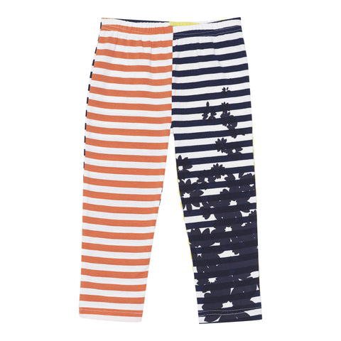 Deux Par Deux Jolie Daisy 3/4 Length Leggings Size 2-12 Years - Rebelle Kids - 1