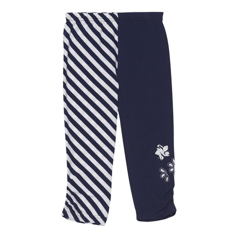 Deux Par Deux Jolie Daisy Mixed Print Leggings Size 2-12 Years - Rebelle Kids - 1