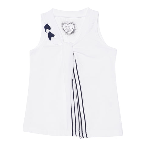 Deux Par Deux Jolie Daisy Sleeveless Top Size 2-12 Years - Rebelle Kids - 1
