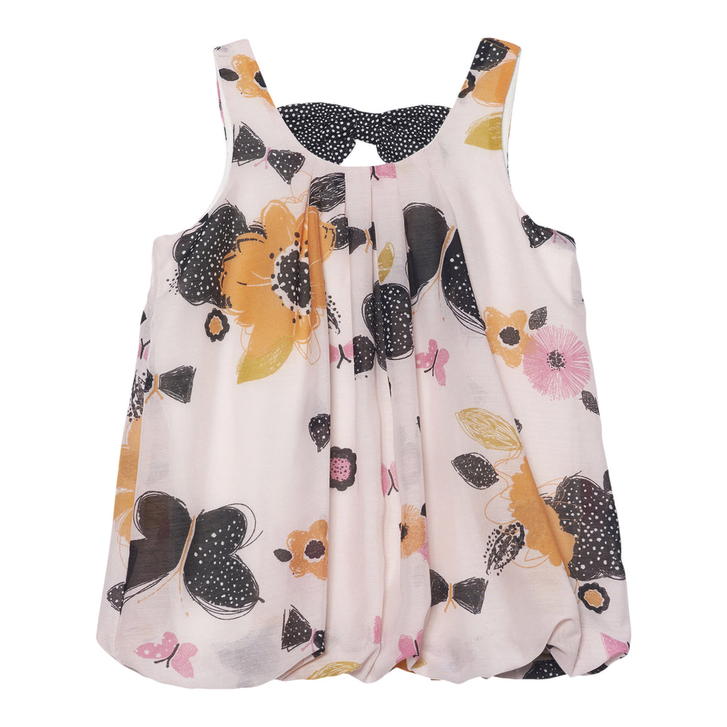 Deux Par Deux Miss Butterfly Balloon Tunic Size 2-12 Years - Rebelle Kids