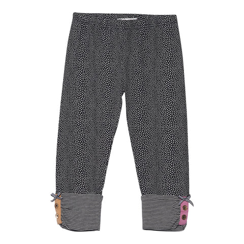 Deux Par Deux Miss Butterfly Polka Dot Leggings Size 2-12 Years - Rebelle Kids