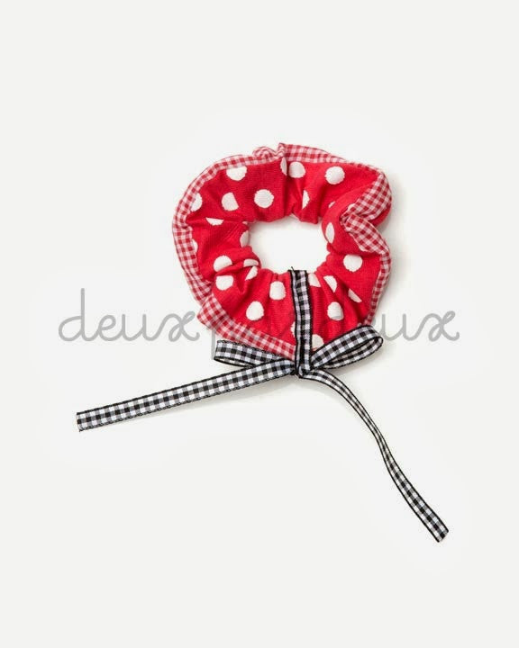 Deux Par Deux Girls Polka Dot Hairband La Cerise - Rebelle Kids - 1