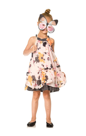 Deux Par Deux Miss Butterfly Printed Dress Size 2-12 Years - Rebelle Kids - 1